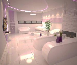 دکوراسیون سالن های زیبایی زنانه