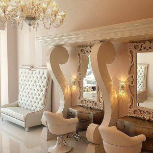طراحی دکور سالن زیبایی