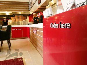 طراحی دکوراسیون رستوران