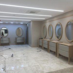 دکور آرایشگاه زنانه